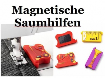 Magnetische Saumhilfe mit Nähmotiven - Magnetic Seam Guide - LIMITED EDITION!