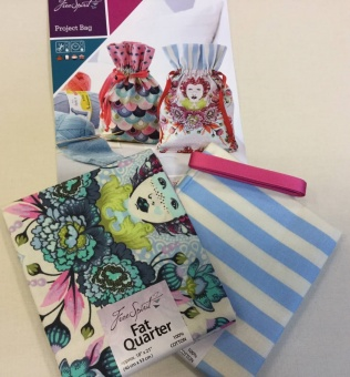 Materialpackung: Elizabeth Projekt Tasche - Project Bag