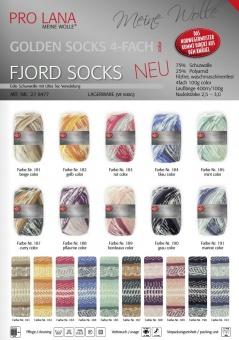 Fjord Socks Norwegermustergarn - Multicolor Sockenstrickgarn - Pro Lana