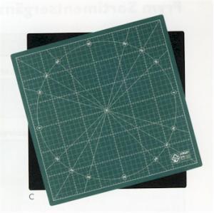 Drehbare Schneidematte quadratisch - OLFA 30cm x 30 Zentimeter
