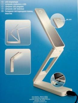 PRYM LED Klappleuchte . USB & Adapter - Tragbare Tageslichtleuchte