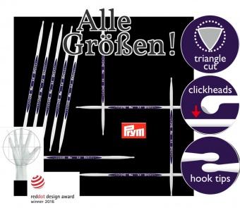 Stricknadeln PRYM Ergonomics - 15cm Nadelspiele / Strumpfstricknadeln - ALLE GRÖßEN!