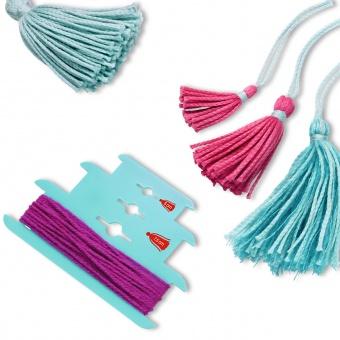 Tassel Maker Quasten Werkzeuge - PRYM LOVE Schablone zum Selbermachen von 10cm / 7,5cm / 5cm Posamenten