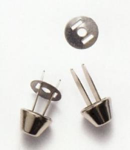 Bodennägel für Taschen Silber