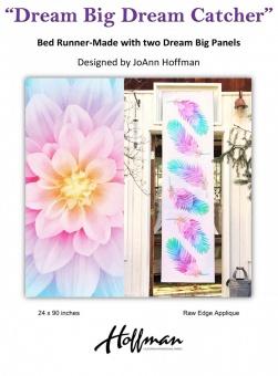 Federnquilt - Dream Big Dream Catcher Bed Runner Schnittmuster von JoAnn Hoffman