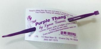 That Purple Thang Wendewerkzeug - Streifenwender