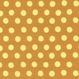 Ochre Classic Spots - Kaffe Fassett Collective Pünktchenstoff Ocker-Gelb
