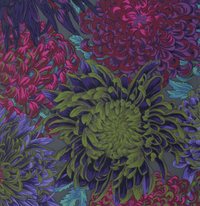 Antique Japanese Chrysanthemums - Phillip Jacobs for Kaffe Fassett Collective - Fall / Winter 2015