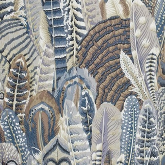Gray Feathers Federnstoff - Philip Jacobs Patchworkstoffe - Kaffe Fassett Collective Designerstoffe