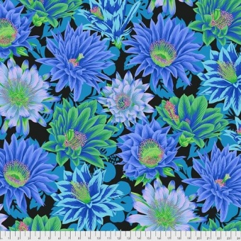 Cool Cactus Flowers - Kaffe Fassett Collective Designerstoffe - Philip Jacobs Spring 2021 Patchworkstoff