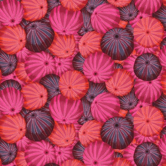 Red Sea Urchins - Kaffe Fassett Collective Designerstoffe - Philip Jacobs Spring 2019 Patchworkstoff