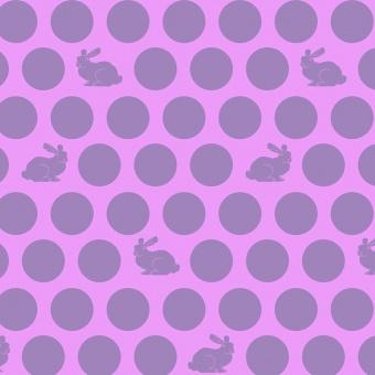 Dusk Hoppy Dot Häschenstoff / Pünktchenstoff - Fox Field by Tula Pink