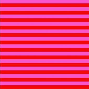 Peony Tent Stripe - All Stars by Tula Pink - Streifenstoff Pink / Burgund