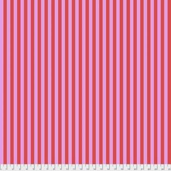 Poppy Tent Stripe - All Stars by Tula Pink - Streifenstoff Pink / Violett