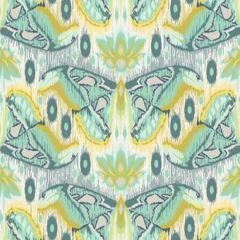 Sapphire Atlas - Eden by Tula Pink - Schmetterlingsstoff