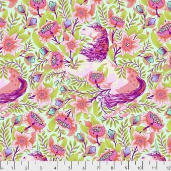 Cotton Candy Imaginarium Einhornstoff - Tula Pink Pinkerville Patchworkstoffe