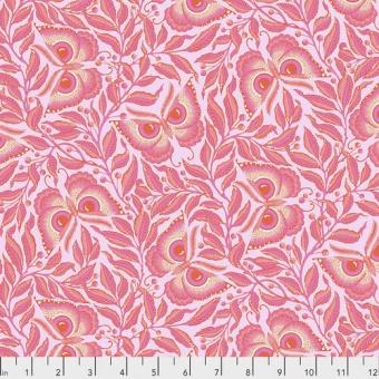 Cotton Candy Enlightenment Schmetterlingsstoff / Eulenstoff - Tula Pink Pinkerville Patchworkstoffe
