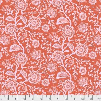 Cotton Candy Delight Blumenstoff - Tula Pink Pinkerville Patchworkstoffe
