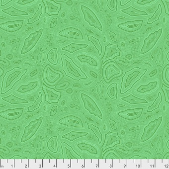 Emerald Mineral Designerstoff - True Colors Tula Pink Basicstoffe - FreeSpirit Patchworkstoffe