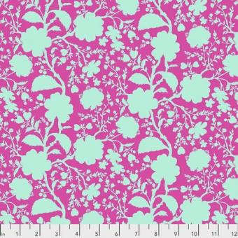 Azalea Wildflower Blumenstoff - True Colors Tula Pink Basicstoffe - FreeSpirit Patchworkstoffe