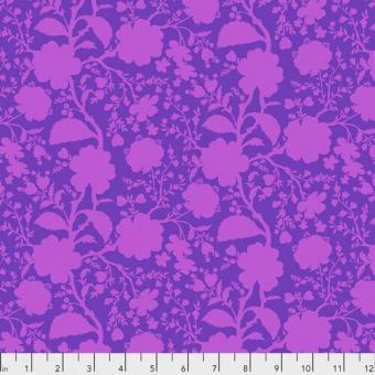 Dahlia Wildflower Blumenstoff - True Colors Tula Pink Basicstoffe - FreeSpirit Patchworkstoffe