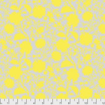 Daisy Wildflower Blumenstoff - True Colors Tula Pink Basicstoffe - FreeSpirit Patchworkstoffe