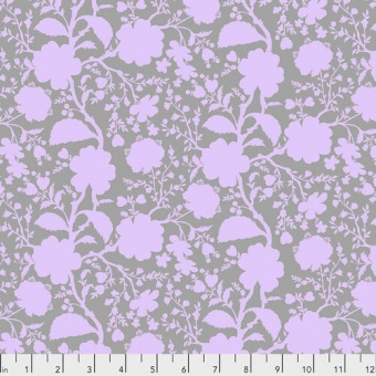 Hydrangea Wildflower Blumenstoff - True Colors Tula Pink Basicstoffe - FreeSpirit Patchworkstoffe