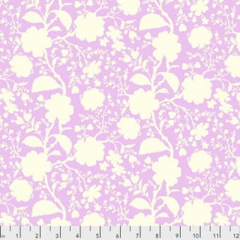 Peony Wildflower Blumenstoff - True Colors Tula Pink Basicstoffe - FreeSpirit Patchworkstoffe