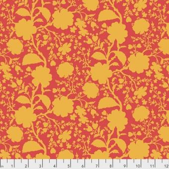 Snapdragon Wildflower Blumenstoff - True Colors Tula Pink Basicstoffe - FreeSpirit Patchworkstoffe
