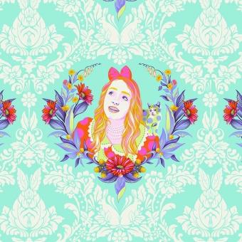 Daydream Alice - Curiouser and Curiouser Tula Pink - FreeSpirit Alice in Wonderland Patchworkstoffe  - VORBESTELLUNG!