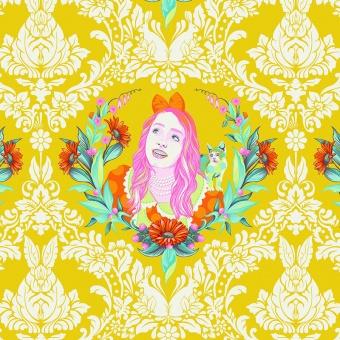 Sugar Alice - Curiouser and Curiouser Tula Pink - FreeSpirit Alice in Wonderland Patchworkstoffe  - VORBESTELLUNG!