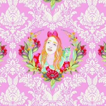 Wonder Alice - Curiouser and Curiouser Tula Pink - FreeSpirit Alice in Wonderland Patchworkstoffe  - VORBESTELLUNG!