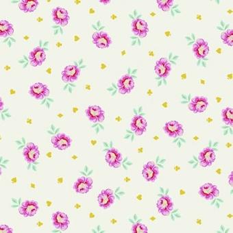 Sugar Baby Buds Rosenstoff - Curiouser and Curiouser Tula Pink - FreeSpirit Alice in Wonderland Patchworkstoffe  - VORBESTELLUNG!