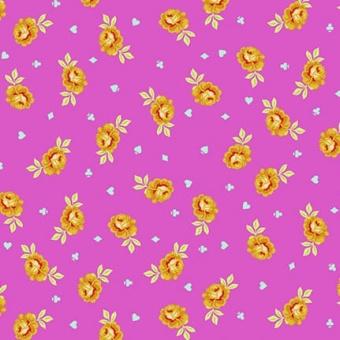 Wonder Baby Buds Rosenstoff - Curiouser and Curiouser Tula Pink - FreeSpirit Alice in Wonderland Patchworkstoffe