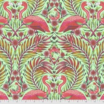 Mango Pretty in Pink Flamingo & Shrimps - Daydreamer Tula Pink Designerstoffe - Tropische FreeSpirit Patchworkstoffe - VORBESTELLUNG! ca. November 2021