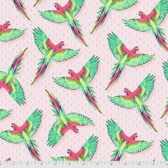 Dragonfruit Macaw Ya Later - Daydreamer Tula Pink Designerstoffe - Tropische FreeSpirit Patchworkstoffe - VORBESTELLUNG! ca. November 2021