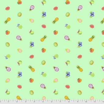 Mojito Forbidden Fruit Snacks - Daydreamer Tula Pink Designerstoffe - Tropische FreeSpirit Patchworkstoffe - VORBESTELLUNG! ca. November 2021