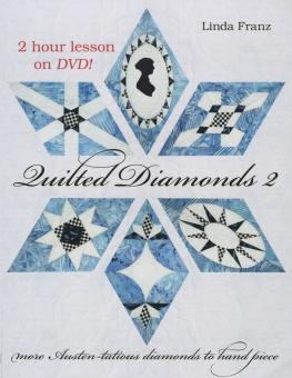 Quilted Diamonds 2 by Linda Franz mit DVD!