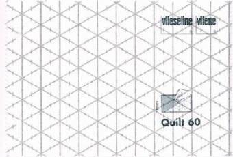Rasterquick Dreieck Vlies - 15m Rolle