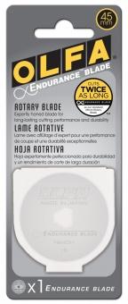 Langlebige Endurance Blade 45mm Ersatzklinge / Rollschneiderklinge - OLFA Rollschneider