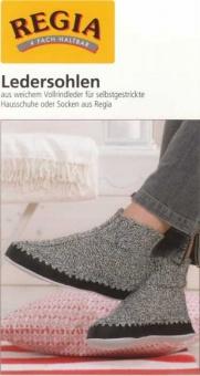 Regia Ledersohlen / Hüttenschuhsohlen - Alle Schuhgrößen