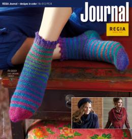 REGIA Journal - Color Effects by Kaffe Fassett Nr. 001