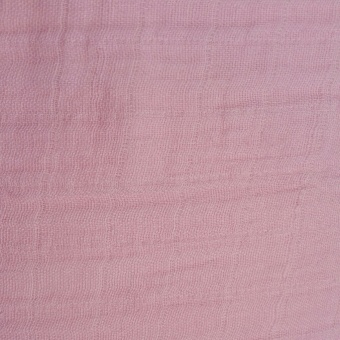 Double Gauze Rosewater Musselinstoff - Rosa-Pinker Bekleidungsstoff / Babystoff