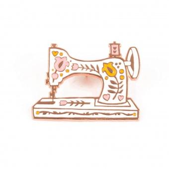 Vintage Nähmaschine Anstecker - Fig Tree Co. Enamel Pins & Buttons