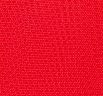 Roter Wabentüll - Tüll Signalrot - Bright Red