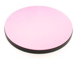 Rosa 360° drehbare Schneidematte - Busyfingers / Tula Pink