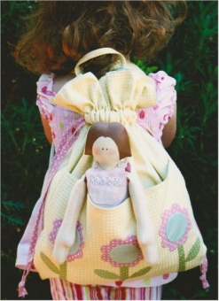 """My Dolly"" Kinder Bag - Patchworktasche / Kindergartentasche"