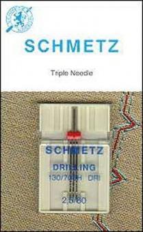 Drillingsnadel - Universal-Drillings-Nähmaschinennadel - Schmetz H DRI 2,5mm / 80