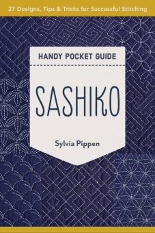 Sashiko Buch - Sashiko Handy Pocket Guide by Sylvia Pippen