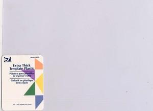 Schablonenfolie - Template Plastic - Template Sheets